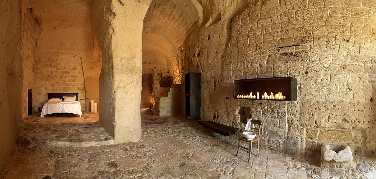 Le Grotte della Civita a Matera